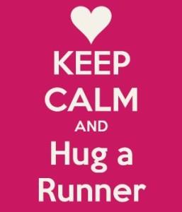 Runners Hugs rule!